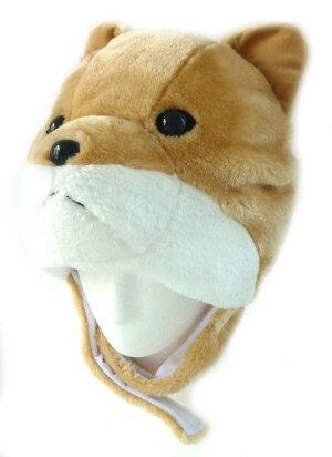 2018年の干支戌(いぬ)年アニマルハットしば犬アニマルグッズ仮装帽子パーティーグッズ