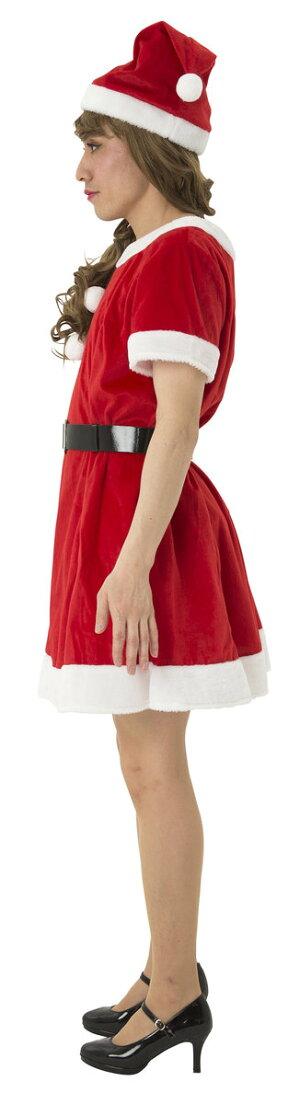 11月中旬入荷予約ファンファンシュガーサンタUNISEXコスプレおもしろクリスマス盛り上げサンタクロース衣装女装Xmas