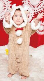 マシュマロトナカイ Baby クリスマス コスプレ 子供用 キッズ ベビー サンタクロース コスチューム Xmas 衣装
