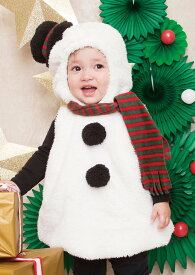 マシュマロスノーマン Baby クリスマス コスプレ 子供用 キッズ ベビー 衣装 Xmas サンタクロース コスチューム