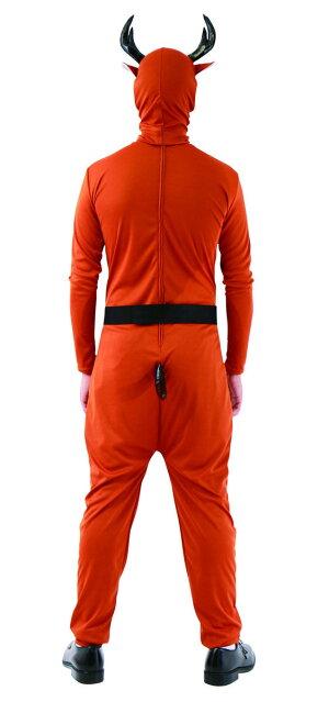 11月中旬入荷予約送料無料イケイケワイルドトナカイタイツ全身タイツサンタクロース盛り上げXmas衣装クリスマスおもしろ