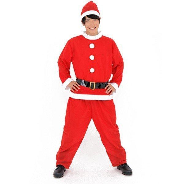 サンタさん クリスマス コスプレ サンタクロース プチプラ 衣装 Xmas コスチューム