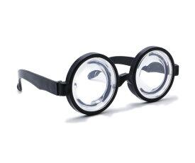ぐるぐるメガネ がり勉メガネ めがね 変装 おもしろグッズ おもしろ雑貨