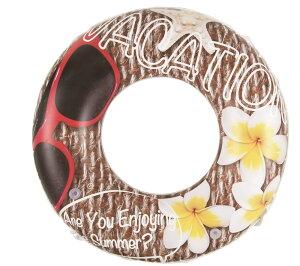 浮輪120cm バケーション フロート うきわ 浮き輪 浮輪 プール 海水浴 水遊び 川遊び レジャー サマーレジャー WR00676