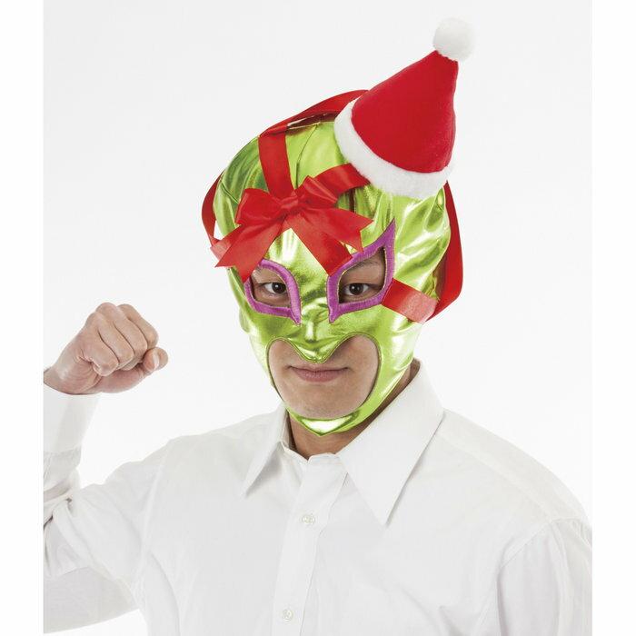 プレゼントマン-覚醒- クリスマス コスプレ サンタクロース かぶりものサンタ 衣裳 コスチューム サンタコス
