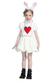 ワンダーラビットガールキッズ 140 キッズ ハロウィン 女の子 不思議の国のアリス コスチューム アリスインワンダーランド 仮装 変装 衣装