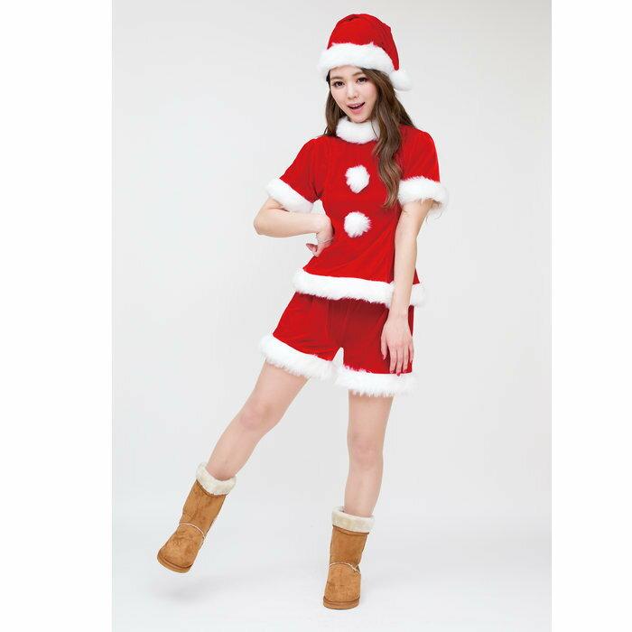 ピノサンタ レディース 女性用 クリスマス コスプレ サンタクロース 衣装 コスチューム
