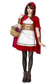 HWO スチームパンク 赤ずきん 女性 レディース 衣装 コスプレ 赤ずきんちゃん 仮装 ハロウィン 変装 アンティーク コスチューム