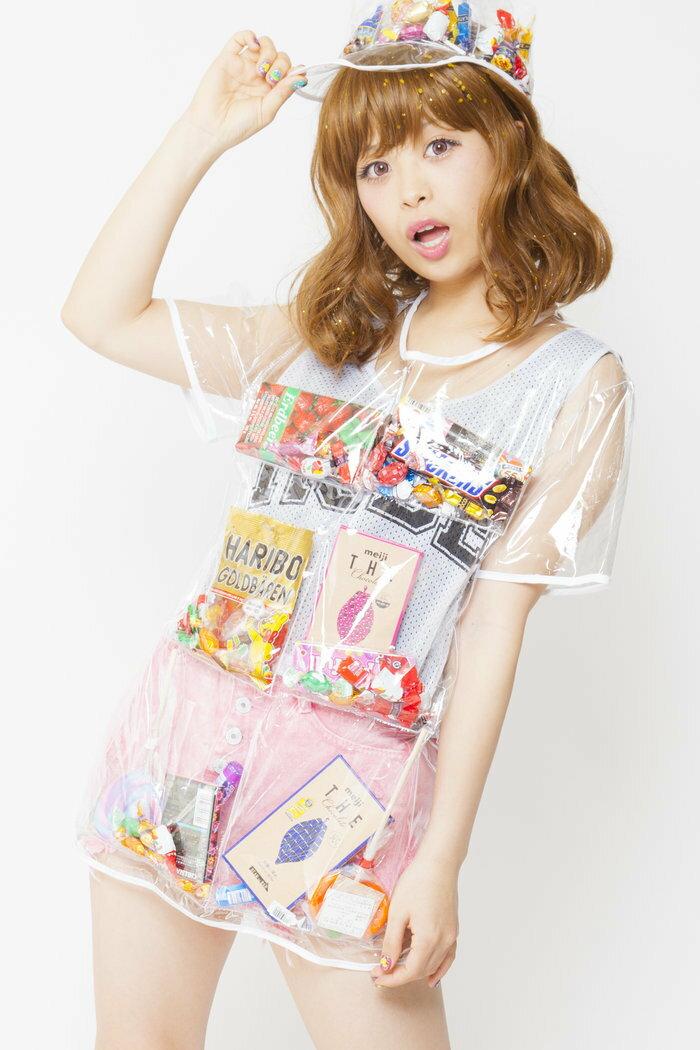 お菓子の入る デコポケポケットシャツ ハロウィン 男女共用 仮装 パレード 衣装 コスチューム コスプレ