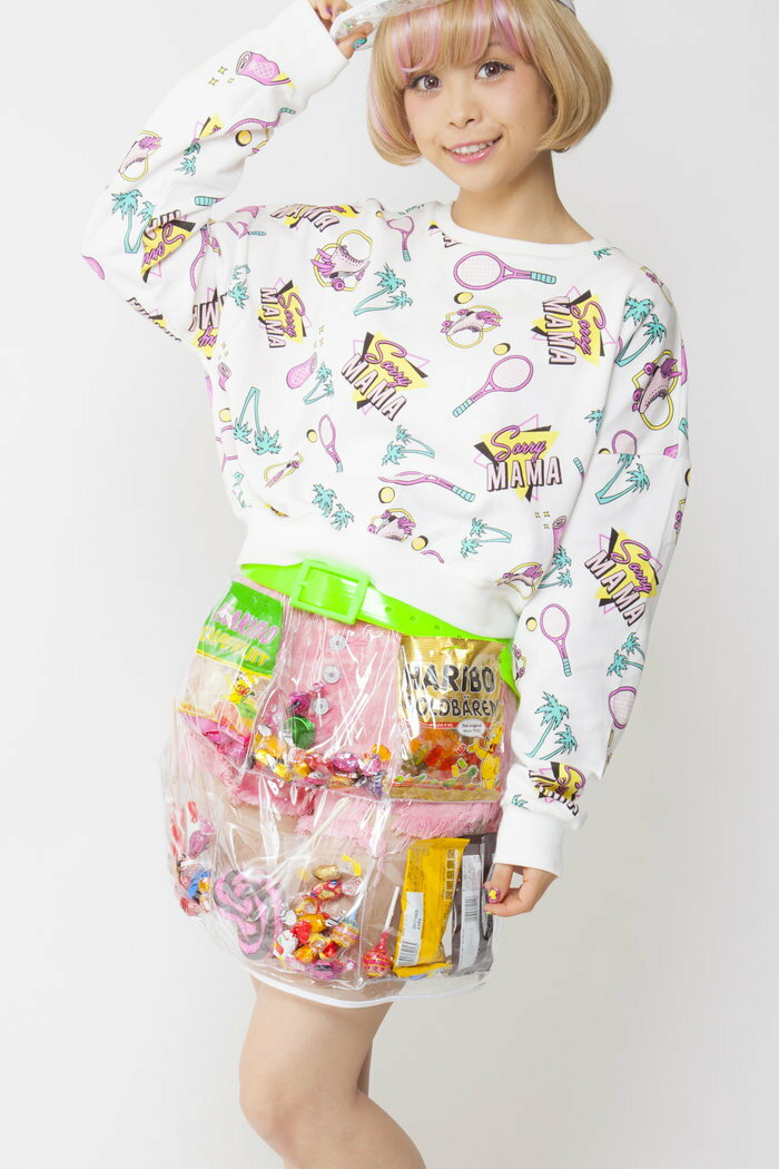 お菓子の入る デコポケポケットスカート ハロウィン 男女共用 仮装 パレード 衣装 コスチューム コスプレ