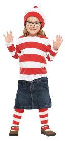 子供用ウェンダ S 100-120cm対応 ウォーリーをさがせ ハロウィン 衣装 コスチューム コスプレ 仮装