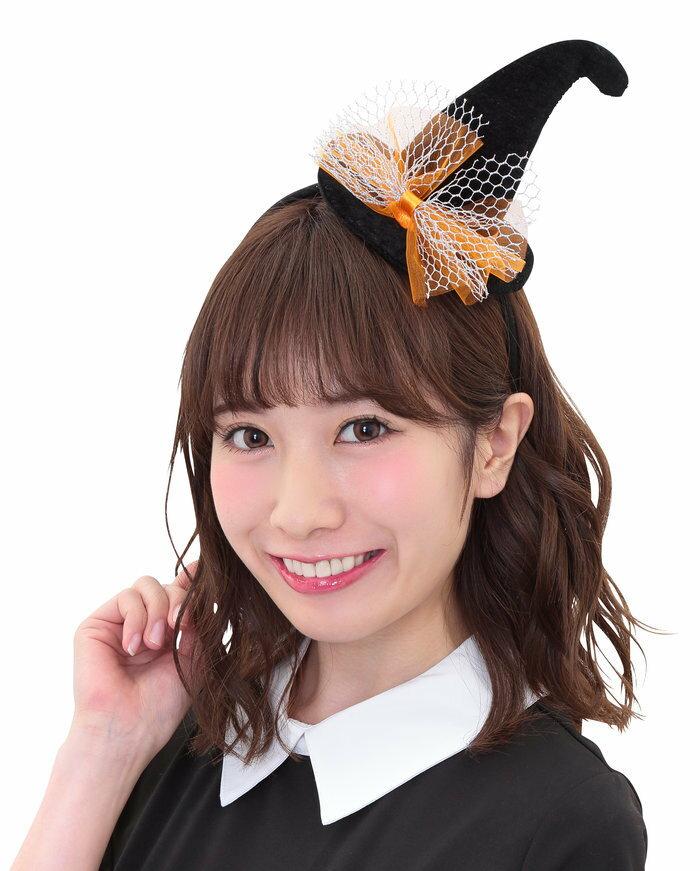 ハロウィン HW ロイヤルウィッチカチューシャ ブラック ハロウィン 衣装 コスチューム コスプレ ヘッドアクセサリー 仮装