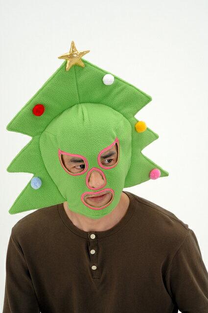 X'masツリーマスク クリスマス コスプレ コスチューム クリスマスツリー