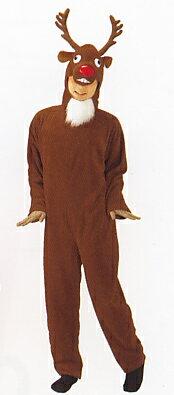 おとぼけトナカイスーツ クリスマス コスプレ 着ぐるみ トナカイ 衣装 コスチューム