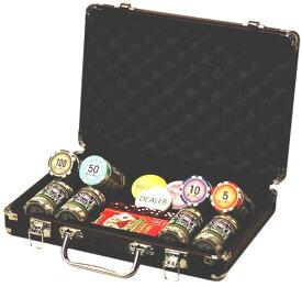 送料無料 プライムポーカーキャリーセット プライムポーカーチップ ダイス トランプセット ポーカー メダル ポーカーチップ