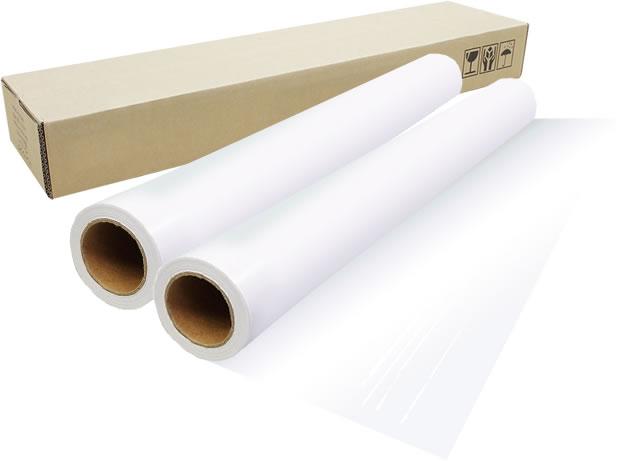 【2本セット】インクジェットロール紙 バックライトフィルム幅610mm(A1ノビ)×長さ30m 厚0.22mm