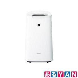 シャープ 加湿空気清浄機 KI-LX75 -W ホワイト プラズマクラスター25000 21畳/空気清浄34畳 自動掃除 COCORO AIR 新品 送料無料