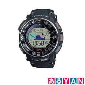 展示 未使用品 カシオ 腕時計 PROTREK PRW-2500-1JF ブラック プロトレック 20気圧防水 レジスターリング タフソーラー 送料無料