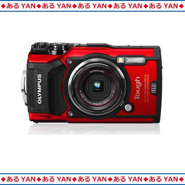 [新品][送料無料] [在庫有り] オリンパス コンパクトデジタルカメラ OLYMPUS Tough TG-5 RED レッド 1200万画素 防水・防塵・耐衝撃
