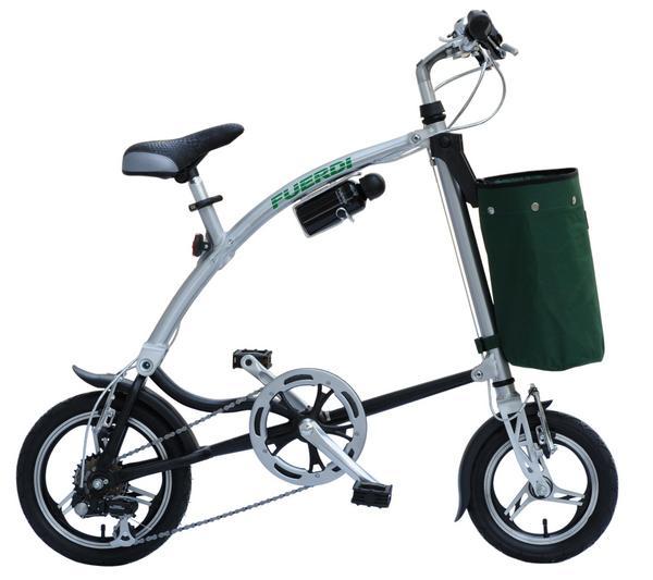 ★SHIMANO6段ギア装着。アルミフレームワンタッチ折りたたみ自転車FromA