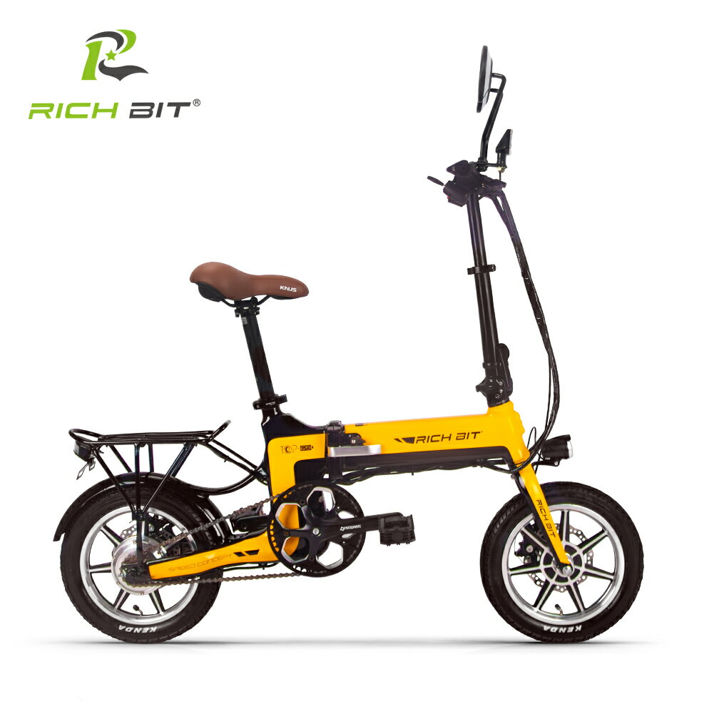 次世代Smart eBike RICHBIT TOP619,世界最軽量級電動バイク