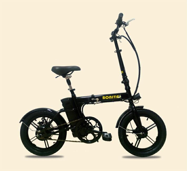 新商品★36Vリチウムイオン電池★軽量折りたたみモペット電動自転車「新フレックス16インチ〜Flex16〜」