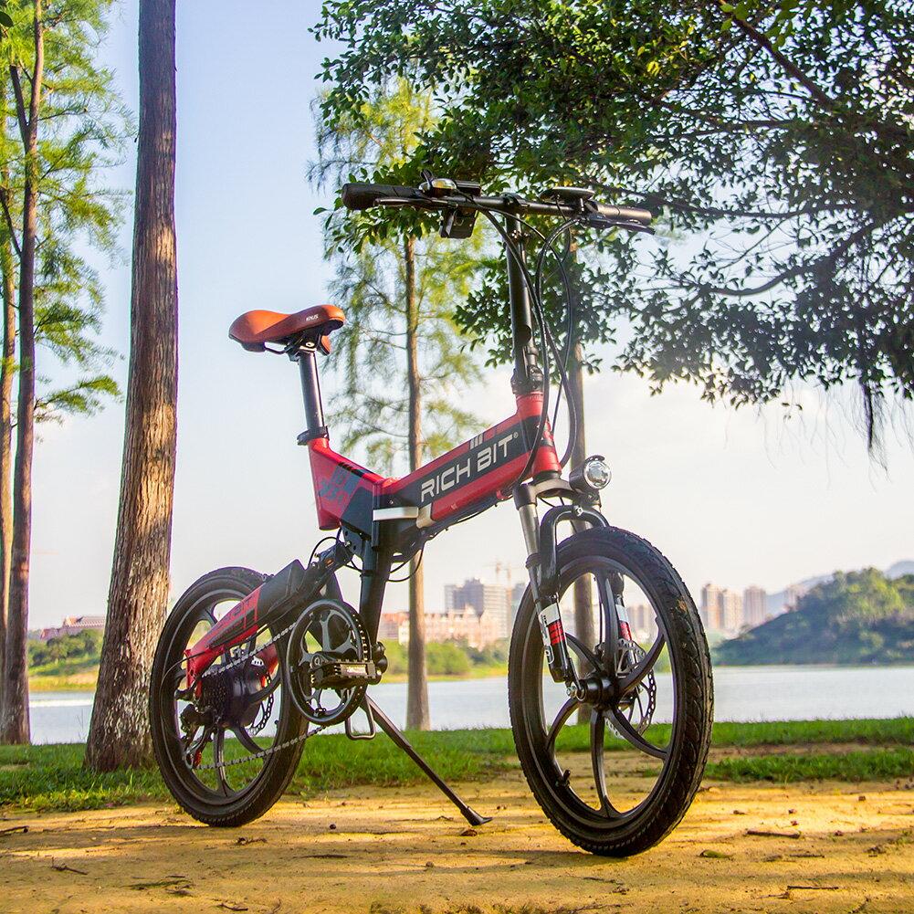 フルアルミ★48Vモベッド電動自転車 RICHBIT TOP730