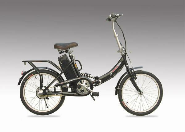 楽々坂道!モペット型電動自転車E-BIKE20(20インチ)