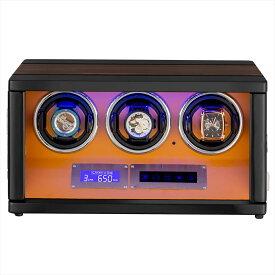 HOKUTO|ワインディングマシーン(ワインダー)3本|腕時計自動巻き器|プレゼント|誕生日 父の日|母の日|プレゼント