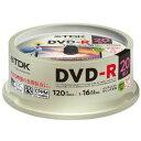 ★DR120DPWC20PUE TDK 録画用DVD-R デジタル放送録画対応(CPRM) 1-16倍速 インクジェットプリンタ対応(ホワイト・ワイド) 20枚...