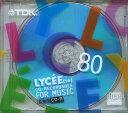 【送料無料】★TDK 音楽用CD-R 80minブルー CD-RLC80BLN 1枚入り