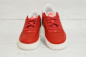 NIKE AIR FORCE 1 LV8 (GS) ACTION RED/ACTN RD-SMMT WHITE ナイキ エア フォース 1