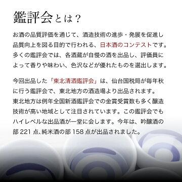 鑑評会は日本酒のコンテストです