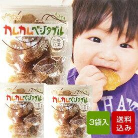 離乳食 カムカムベジタブル さつまいも 3袋入 ベビーフード [9ヶ月頃〜]