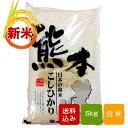 【送料無料】熊本コシヒカリ 5kg 白米 一等米 熊本県産 30年度産