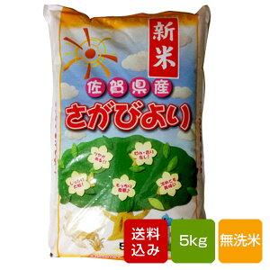 【新米】さがびより 無洗米 5kg 佐賀県産 一等米 令和元年産 送料無料