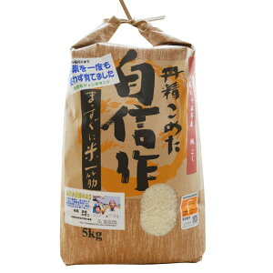 無農薬玄米 5kg コシヒカリ福岡県産 令和元年産