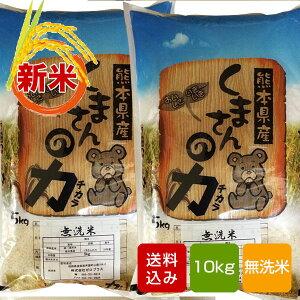 くまさんの力 無洗米 10kg 熊本県産 令和2年産 ギフト