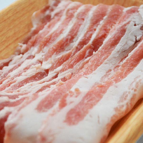 豚バラ スライス 200g 長崎島原豚