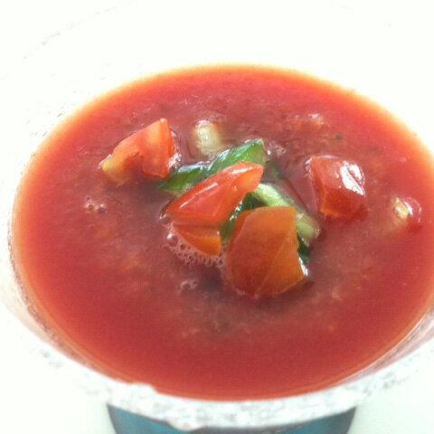 トマトの冷製スープが作れるセット レシピ付きでかんたん!