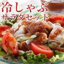 冷しゃぶ サラダセット 九州野菜としゃぶしゃぶ用お肉、卵6個付き