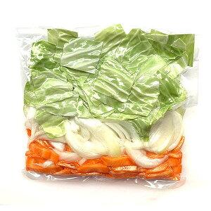 野菜炒め用 カット野菜 300g 次亜塩素酸不使用 無漂白 国産
