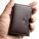 三つ折り小さい財布メンズ 極小 ミニ 革 バッグ 小物 ブランド雑貨 財布 ケース メンズ財布【財布 メンズ 小さい財布 アサヒショップ】ms-ori