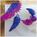 【1個】シリコン型 //1型で3種類の翼が作れる♪// 羽/天使/feather/エンジェル/レジン/成型/モールド/レジン/シリコ…