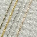 【約10m】鉄製平小豆チェーン 3*2mm 線径約0.55mm お徳用 ネックレス/ブレスレット/ピアス/Chain/鎖/あずき/金属 //ア…