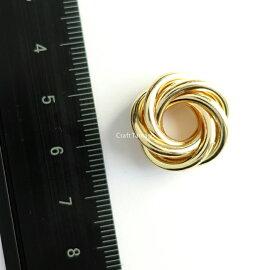 【2個】多重リングアクセサリーパーツ【A】L18.5*19mm資材/アクセサリーパーツ/手作り/材料/ハンドメイド/卸/手芸
