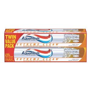 【ポイント5倍】 アクアフレッシュ Aquafresh エクストリーム クリーン ホワイトニング アクション 歯磨き粉 158.7g 【お得な 2本セット】 アメリカ