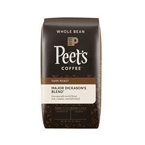 【ポイント5倍】 ピーツコーヒー Peet's Coffee メジャーディッカーソンブレンド ダークロースト ホールビーン(コーヒー豆) 297g コーヒー コーヒー豆 アメリカ