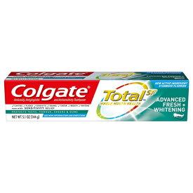 【ポイント5倍】 コルゲート Colgate トータルアドバンスド フレッシュ+ホワイトニング ジェル 歯磨き粉 144g アメリカ