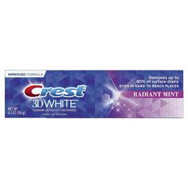 【ポイント5倍】 クレスト Crest 3D ホワイト ラディアントミント ホワイトニング歯磨き粉 116g アメリカ